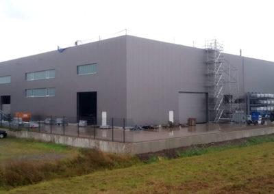 Hallenaufbau in Espelkamp