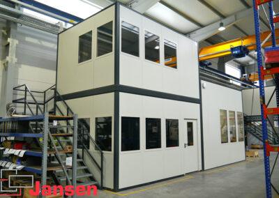 Aufbau von industriellen Raumsystemen in Herford