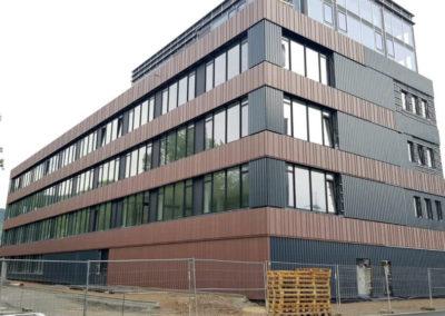 Hallenaufbau in Jena